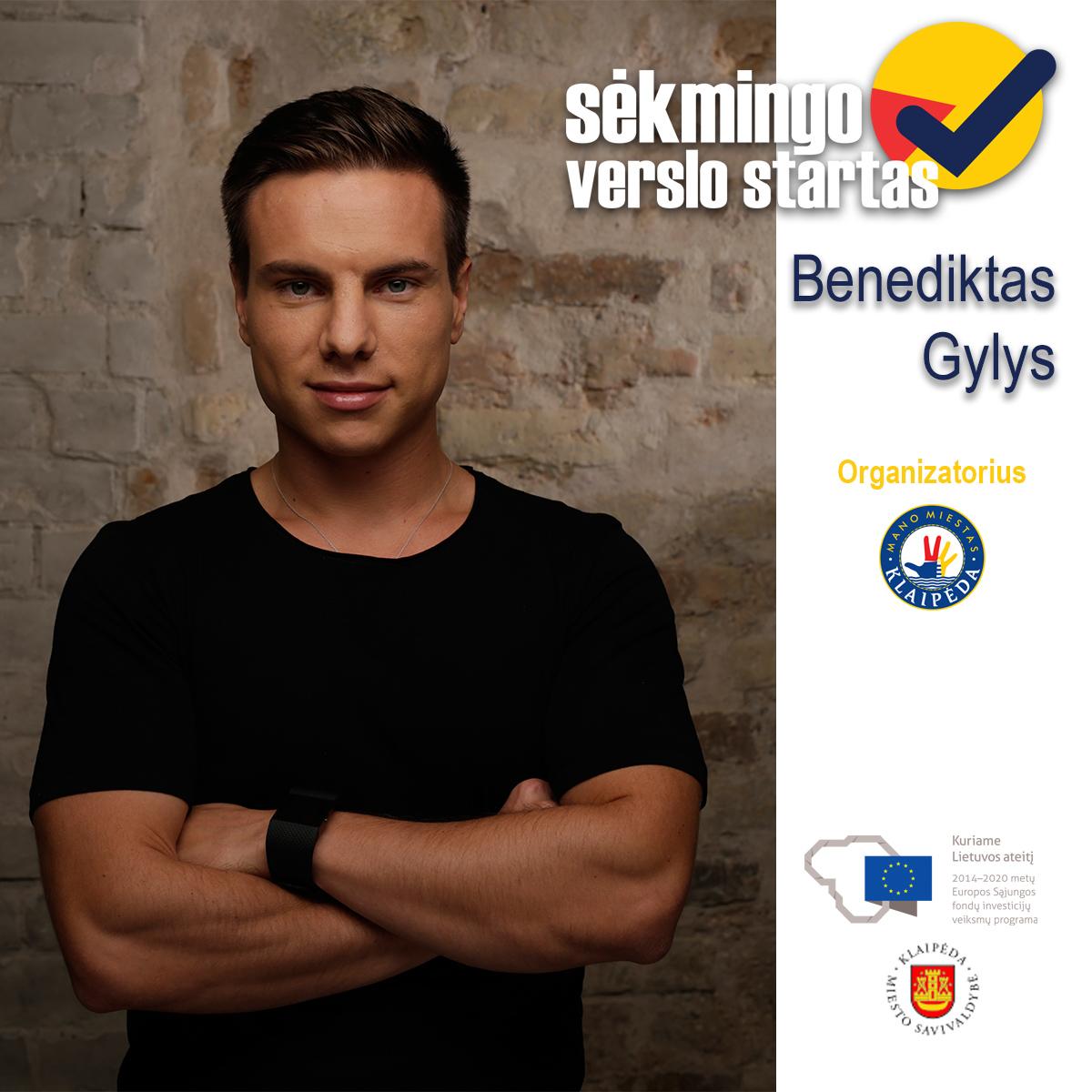 Benediktas Gylys 1